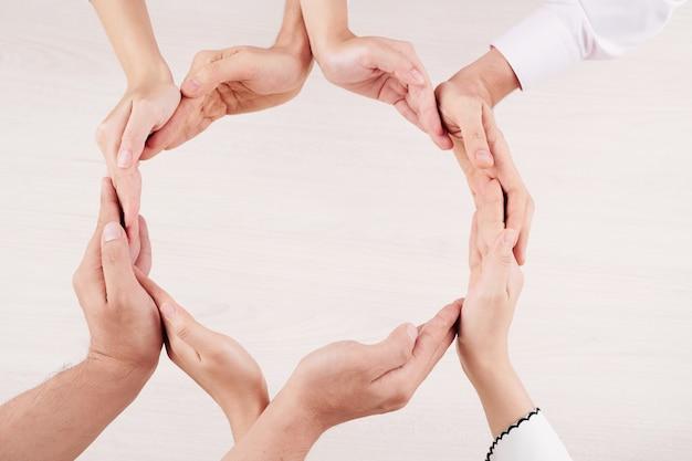 Cirkel van eenheid van familie