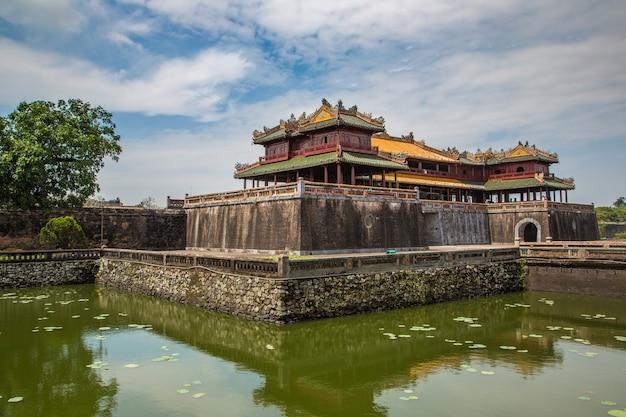 Citadel, keizerlijk koninklijk paleis, verboden stad in hue