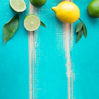 Citroen en limoenen