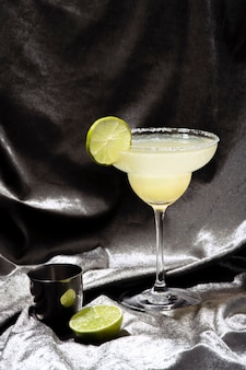 Citroen margarita cocktaildrank