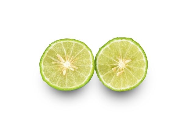 Citrus hystrix geïsoleerd