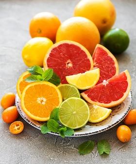 Citrus vers fruit