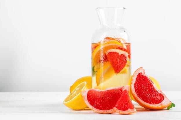 Citruslimonade, zomerdrank.