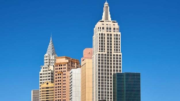 Cityscape van las vegas, verenigde staten