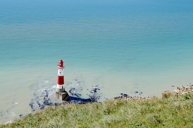 Cliffs at beachy head aan de zuidkust van engeland