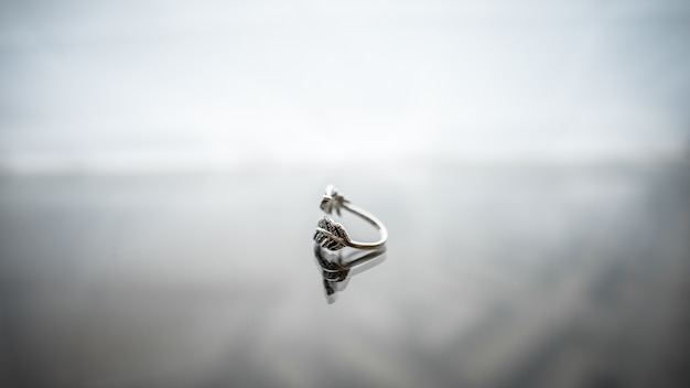 Close-up accessoire hanger schoonheid wit glas