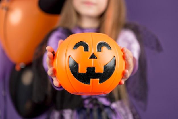 Close-up beeld van halloween concept