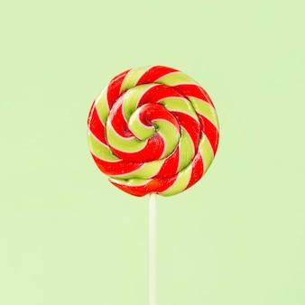 Close-up beeld van kleurrijke heerlijke lolly