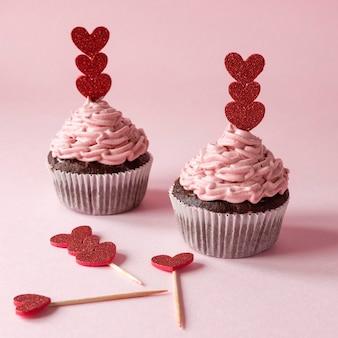 Close-up beeld van mooi van valentijnsdag concept