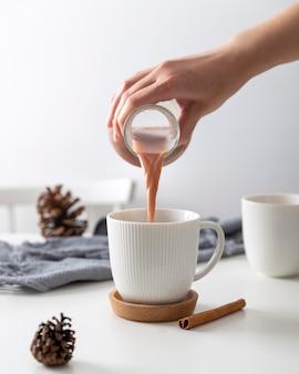 Close-up beeld van winter voedsel concept
