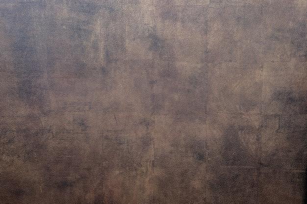Close-up foto van de textuurachtergrond van het bizonleer