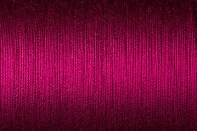 Close-up foto van magenta draad textuur, oppervlakte achtergrond imange