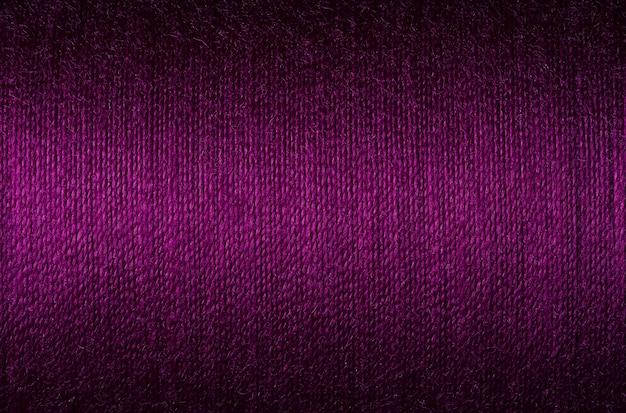 Close-up foto van paarse draad textuur, oppervlakte achtergrond imange