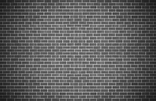 Close-up geweven van oude zwarte bakstenen muurachtergrond.