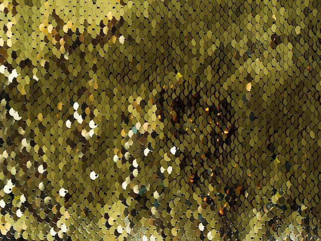 Close-up glanzend pailletten textuur