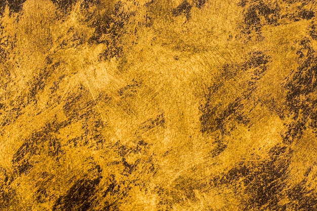 Close-up gouden geschilderde achtergrond