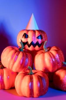 Close-up griezelig halloween-speelgoed