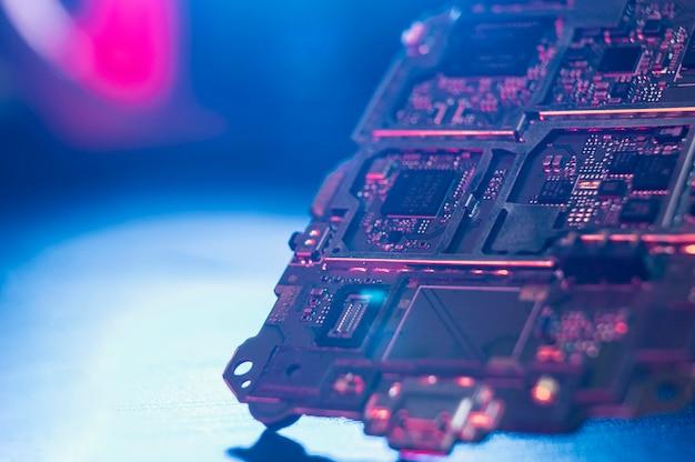 Close-up hardware component achtergrond