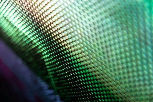 Close-up led wazig scherm. abstracte achtergrond ideaal voor design.