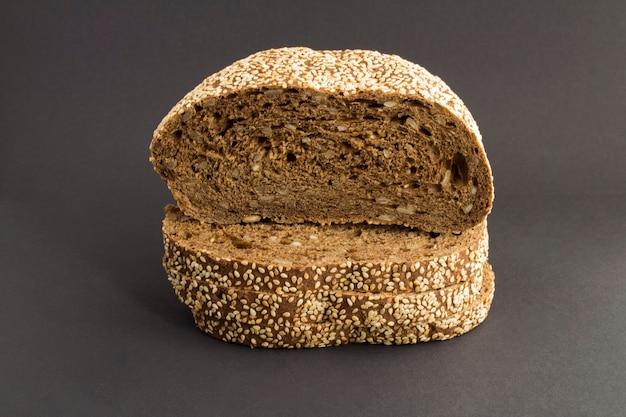 Close-up op brood met sesam