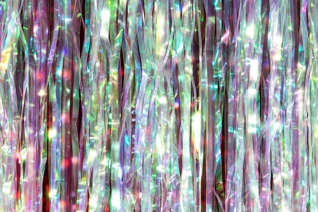Close-up op glitterdecoratiedetail