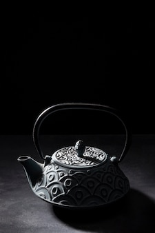 Close-up op heerlijke aziatische thee