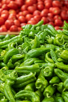 Close-up op rijpe en heerlijke groenten