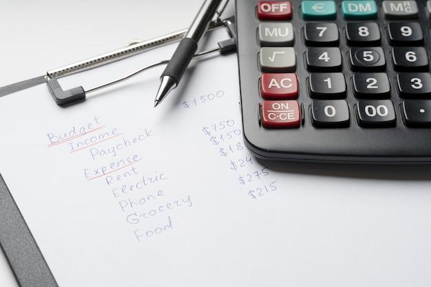 Close-up rekenmachine