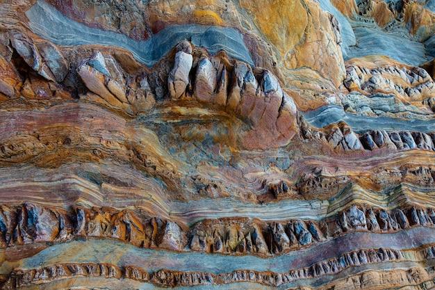 Close-up shot van de klif - perfect voor achtergrond
