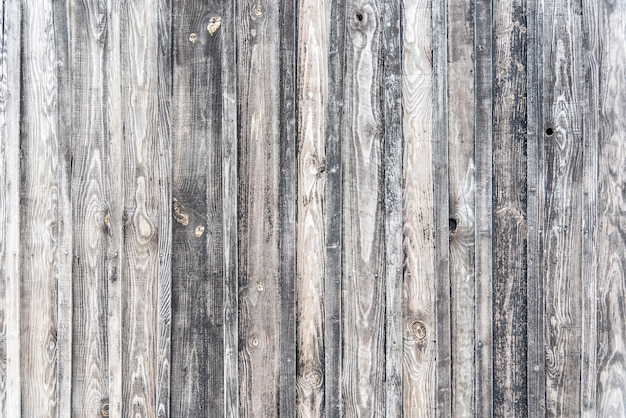 Close-up shot van een houten muur - een coole achtergrond