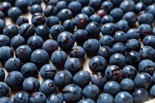 Close-up shot van verse isabella-druiven