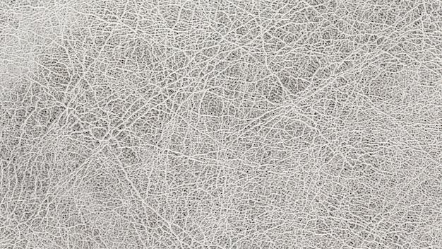 Close-up shot van zilveren leder texture background
