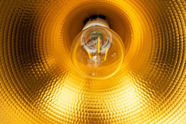 Close-up tafellamp kap, kegel, reflector