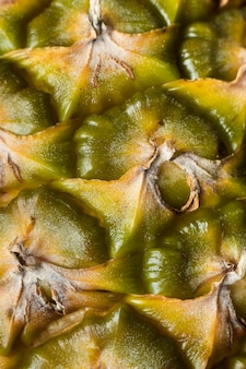 Close-up van ananasfruit