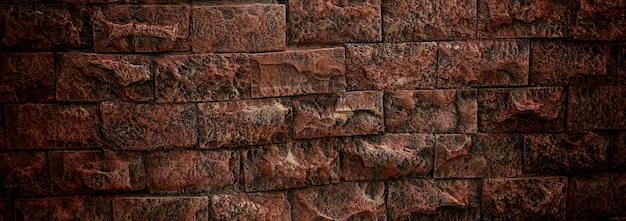 Close-up van bakstenen muurtextuur voor background