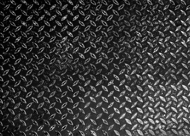 Close up van black diamond metal texture