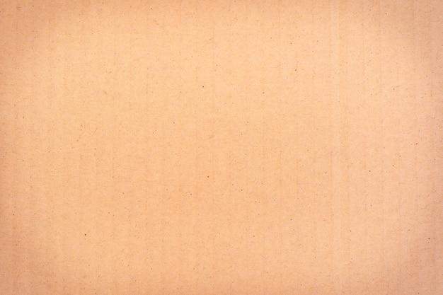 Close-up van bruine papieren doos textuur