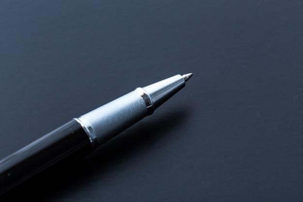 Close-up van de pen