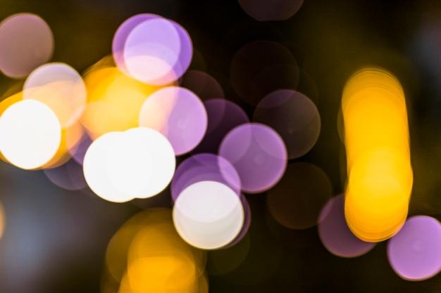 Close-up van de textuur van het festivalmodel bij nacht