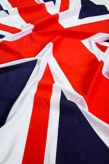 Close-up van de vlag van union jack