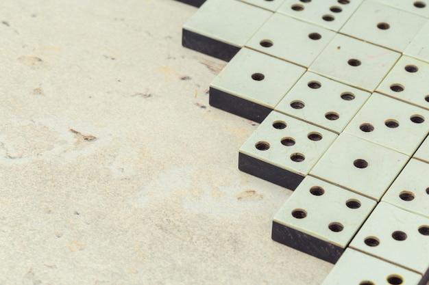 Close-up van dominospel