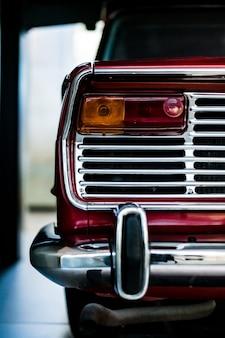 Close-up van een auto