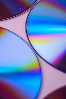 Close up van een cd-rom