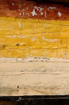 Close-up van een geschilderde houten muur tanzania, afrika