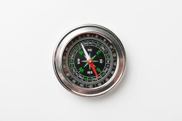 Close up van een kompas