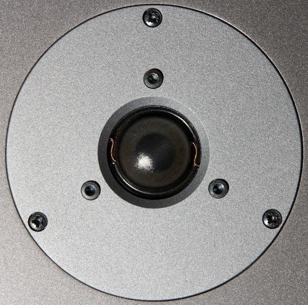 Close-up van een luidspreker