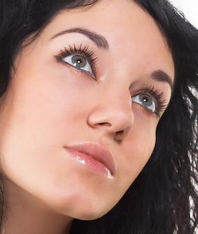 Close-up van een mooi gezicht