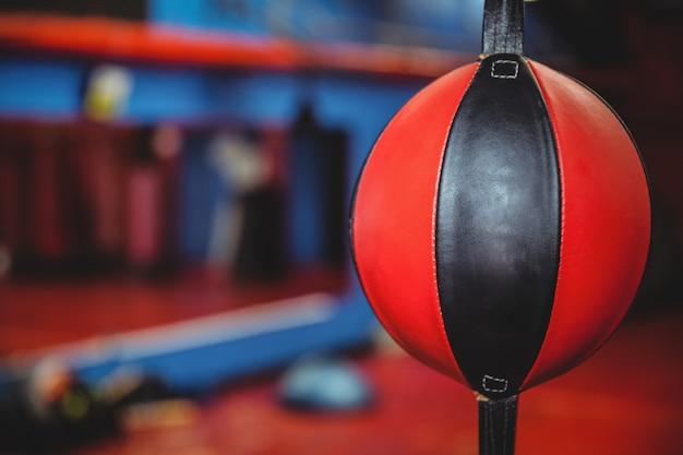 Close-up van een snelheid boksen bal