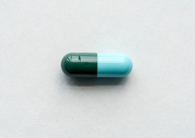 Close-up van farmaceutische geneeskundecapsule
