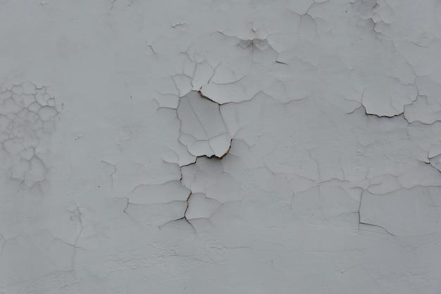 Close-up van gebarsten muurtextuur voor background